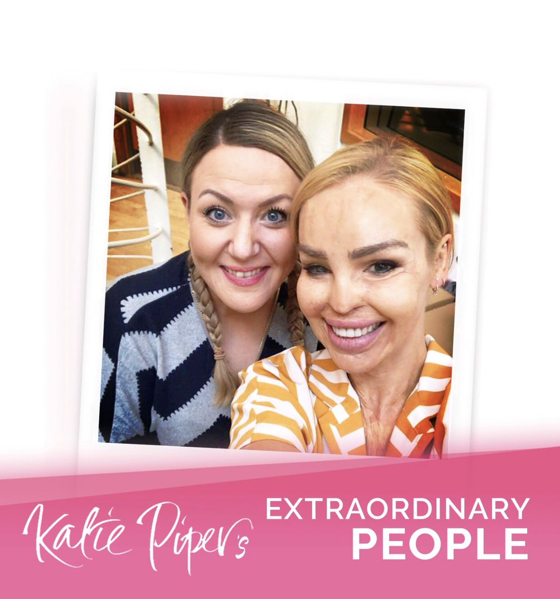 727ae9ebe789d episode 6 of katie pipers extraordinary people is available now this weeks  guest is amazing she