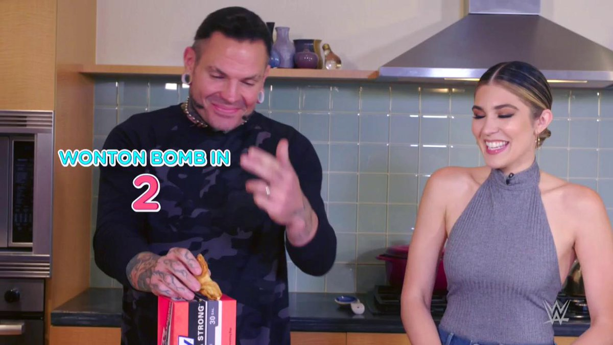 There are plenty of WONTON BOMBS and WHISPERS IN THE WHISK to be had in the latest episode of #TalkingSnack with @catherinekelley and @JEFFHARDYBRAND, presented by @Hefty!