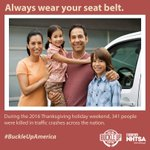 Image for the Tweet beginning: Safety is non-negotiable. #BuckleUpAmerica #SeatBelt