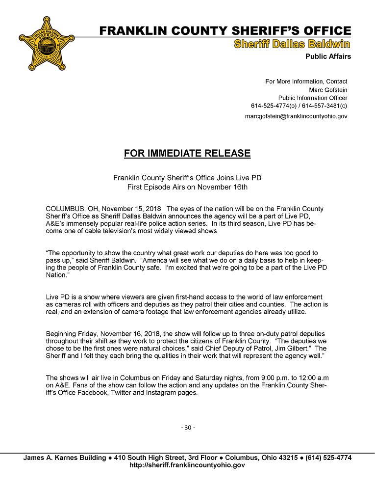 Franklin County Sheriff's Office on Twitter: