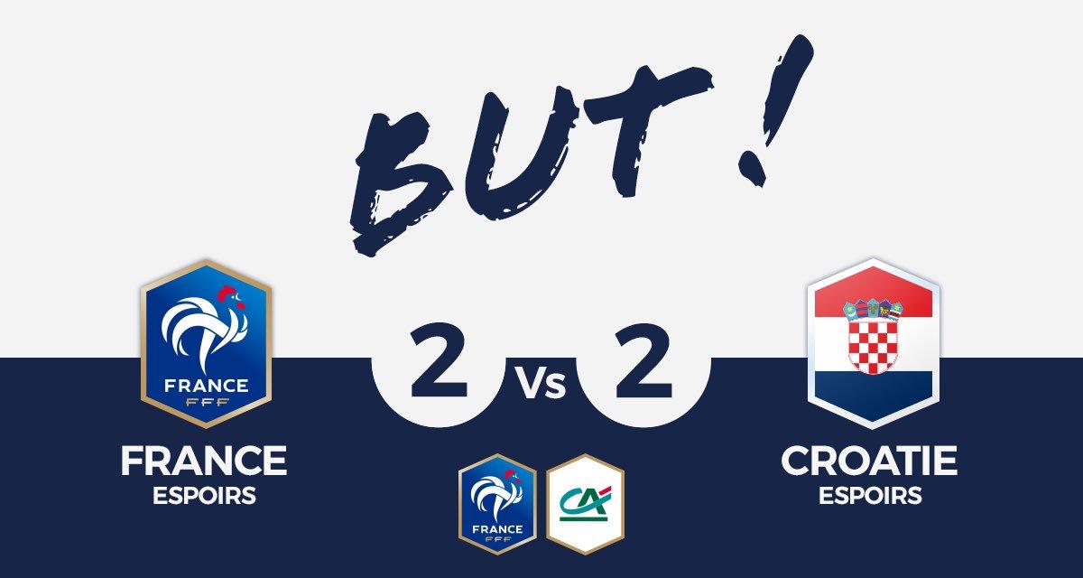 FRANCE U21🇫🇷 2-2 CROATIE U21🇭🇷  BUUUUUUUUUUUUUUT DE BAMBA !  #SportEcoleDeVie #CôtéFoot #FRACRO