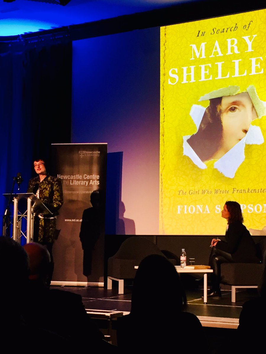 """NCLA on Twitter: """"Fiona Sampson on her book 'In Search of Mary Shelley: The  Girl Who Wrote Frankenstein' in convo with Rachel Hewitt #NCLAevents… ..."""