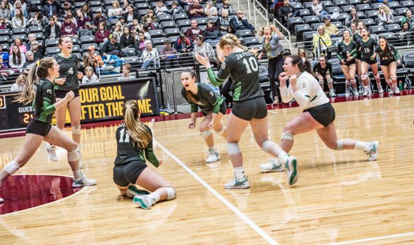 Boyd avenged its 2017 state semifinal loss Thursday morning, sweeping Vanderbilt Industrial to advance to the 3A championship match Saturday.  The Lady Jackets are now one win from their first state title in school history. #UILState #txhsvb  Full story: http://www.wcmessenger.com/2018/sports/boyd-avenges-2017-semifinal-loss-advances-to-3a-final/ …
