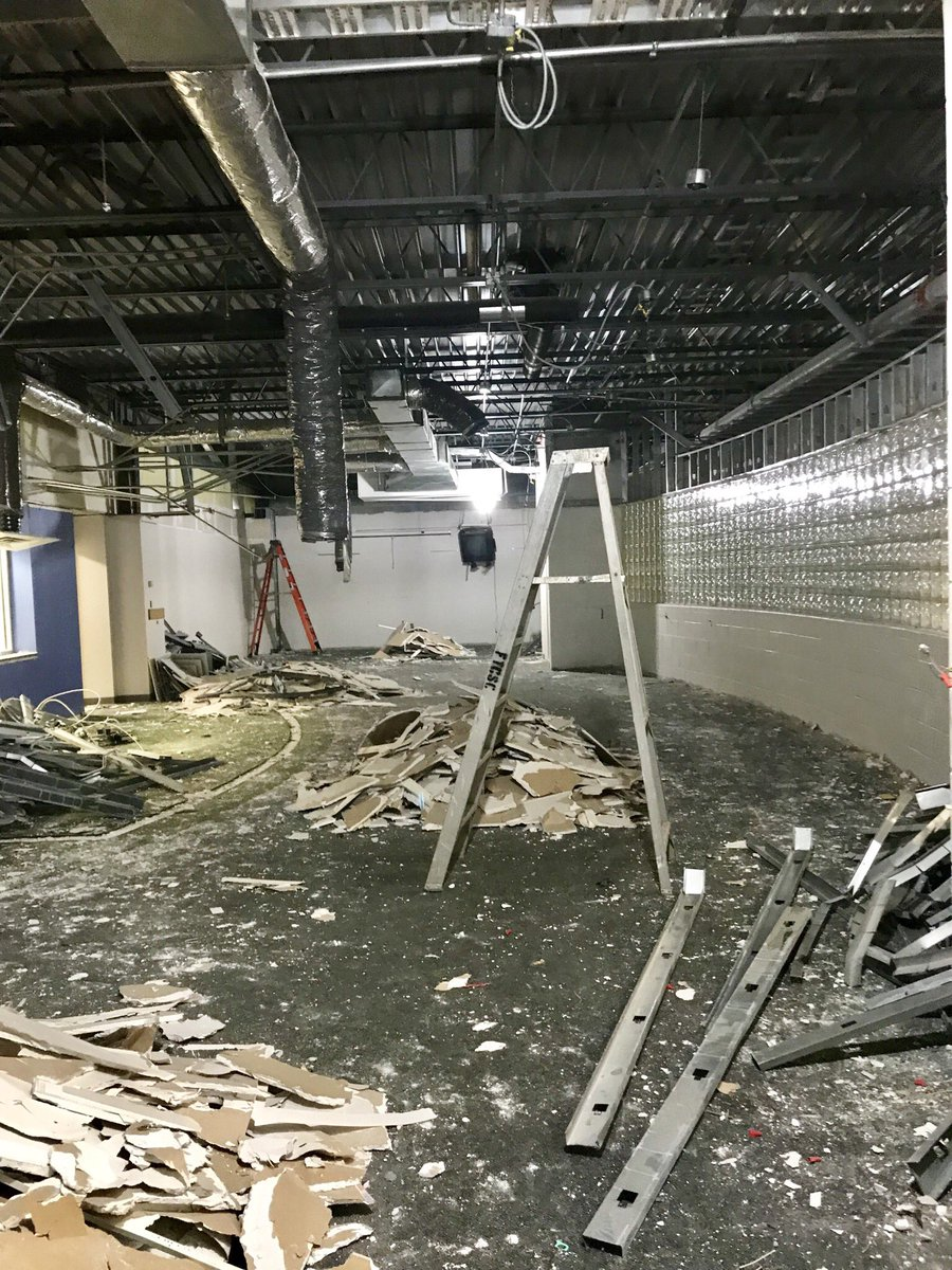 Franklin Township Community Schools On Twitter Renovation Work At