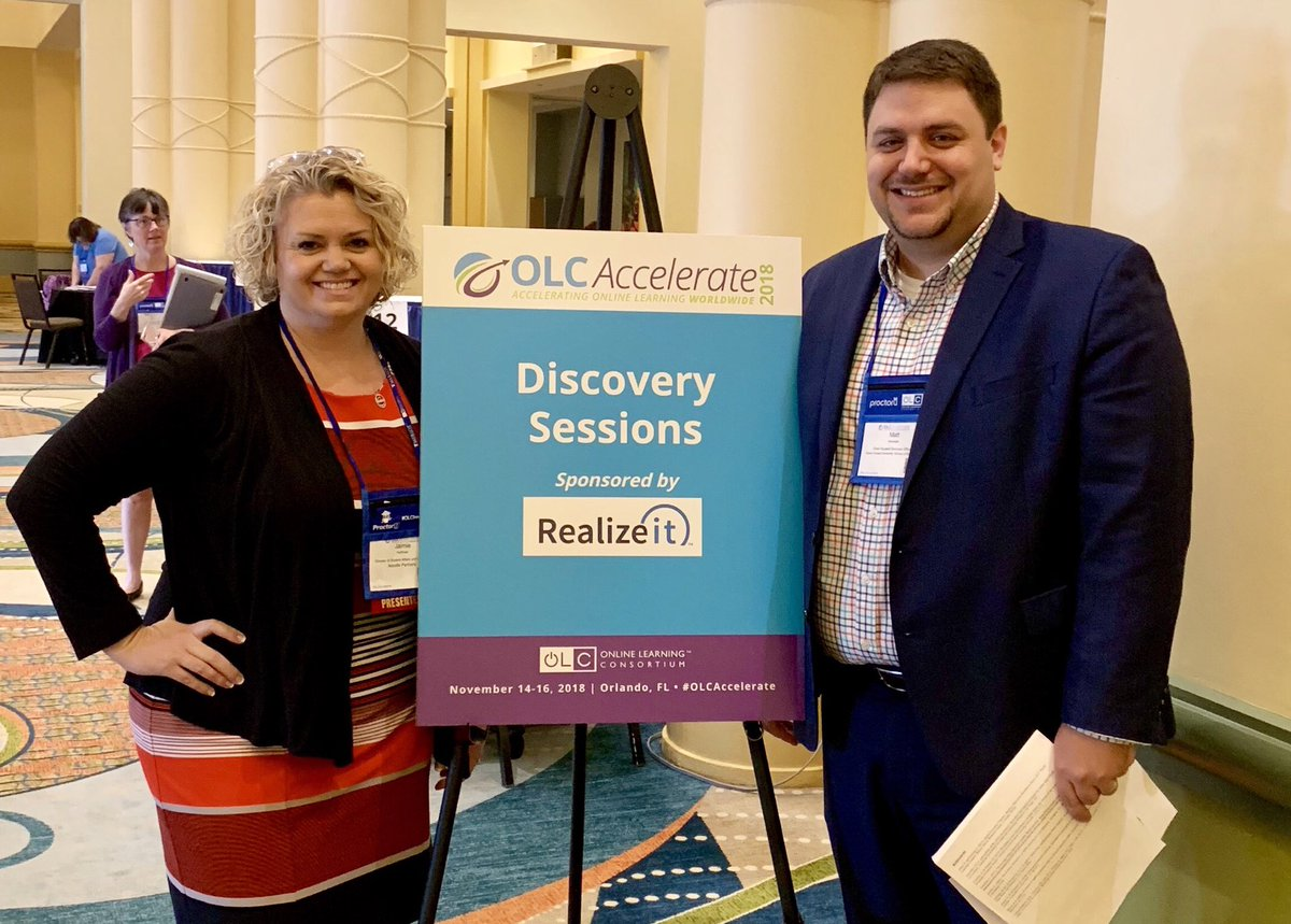 Enjoyed speaking to #OLCAccelerate attendees today with @Noodle_Partners @JaimieLHoffman about institutionalizing online student support practices & our experiences @WakeForestBiz with great Online #WakeBizMSBA students & faculty