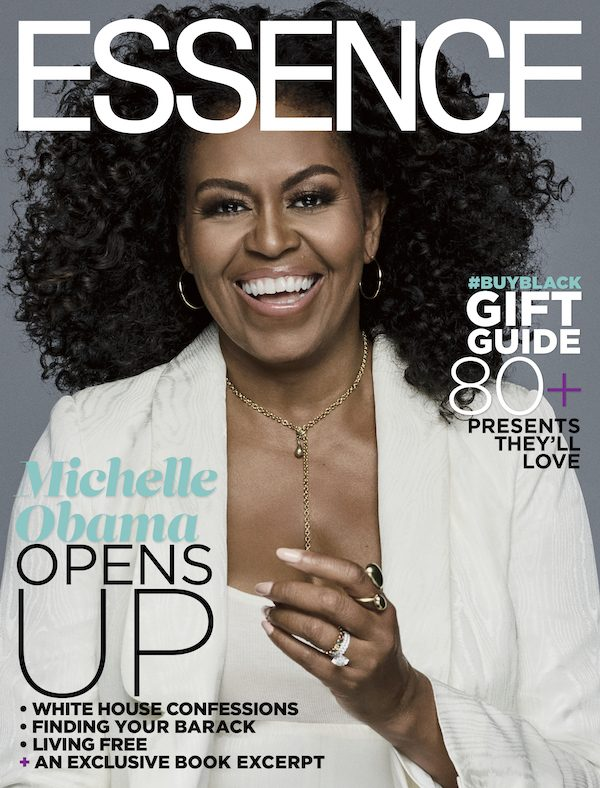 RT @thatgrapejuice: Michelle Obama Covers Essence / Talks New Book, Barack, White House, & What's Next #ur# https://t.co/xzGVPGDz8n
