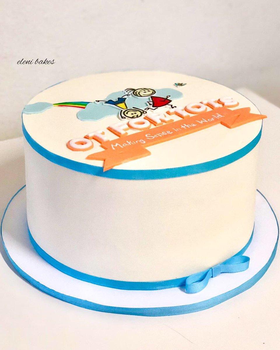 Brilliant Eleni Bakes On Twitter Anniversary Celebration Cake For Ot For Personalised Birthday Cards Vishlily Jamesorg