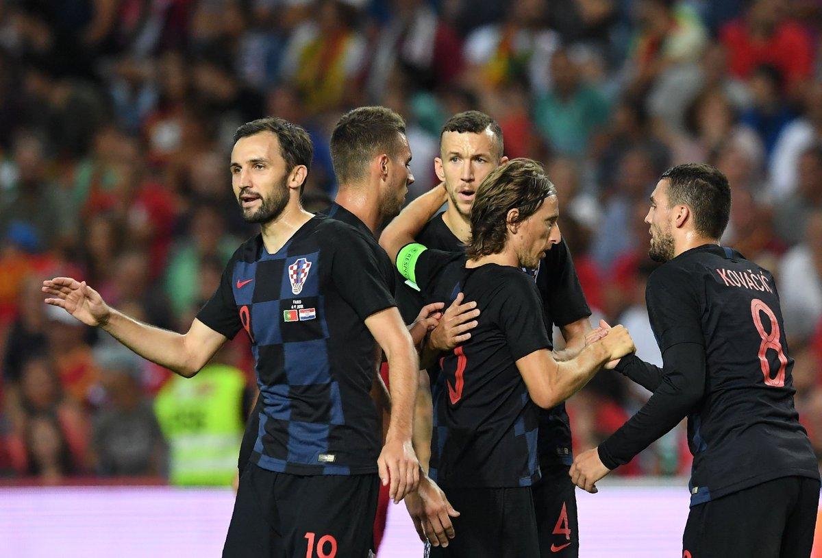 أهداف فوز كرواتيا على إسبانيا في دوري الأمم الأوروبية