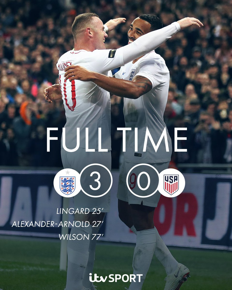 What a night for @England ✅A 120th cap for @WayneRooney ✅First international goal for @callumwilson ✅First international goal for @trentaa98 ✅A 💫goal from @JesseLingard