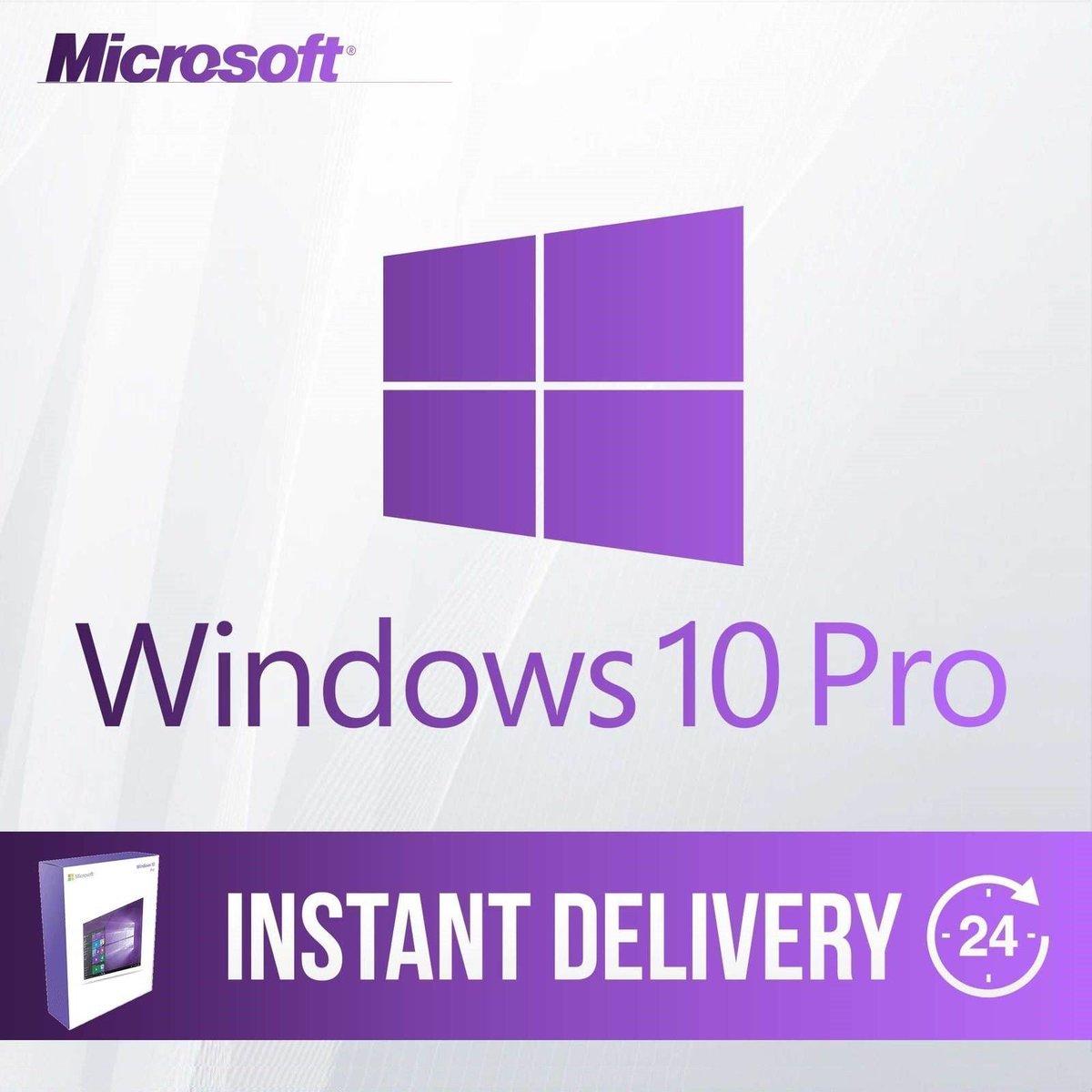 New on ebay: Windows 10 Pro Professional 32/64 Bit Product Key License Koran ESD   https://t.co/UFLMhBvPF2 https://t.co/VRieue9dut