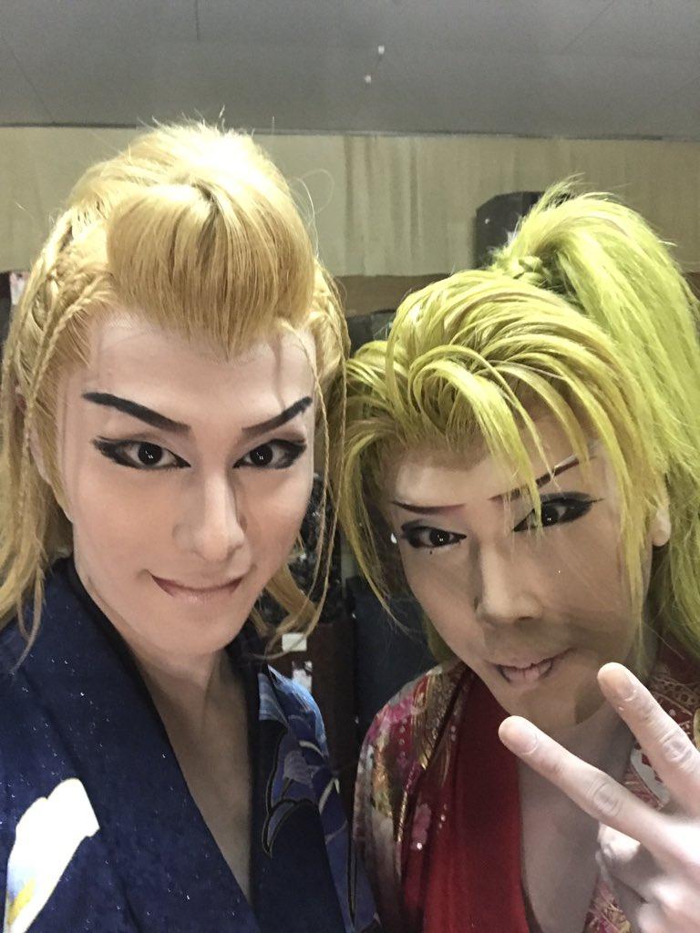そういえば載せ忘れ_:(´ཀ`」 ∠):この前の劇団美川にお邪魔した時の写真^_^!!