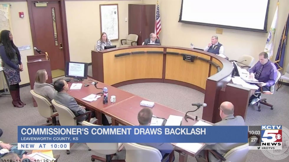 White Kansas official tells black woman he's a member of the 'master race' during public hearing https://t.co/MED7Rfu3In