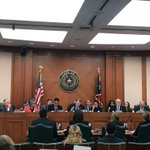 Image for the Tweet beginning: The @TX_Sunset Commission convened yesterday