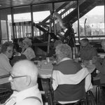 Did you know Eastern used to host a Thanksgiving dinner for local seniors? This image is from Thanksgiving of 1984. Have a great holiday, everyone! #EOUtbt #goeou #eoulife #piercelibrary #eoulibrary #tbt #throwbackthursday