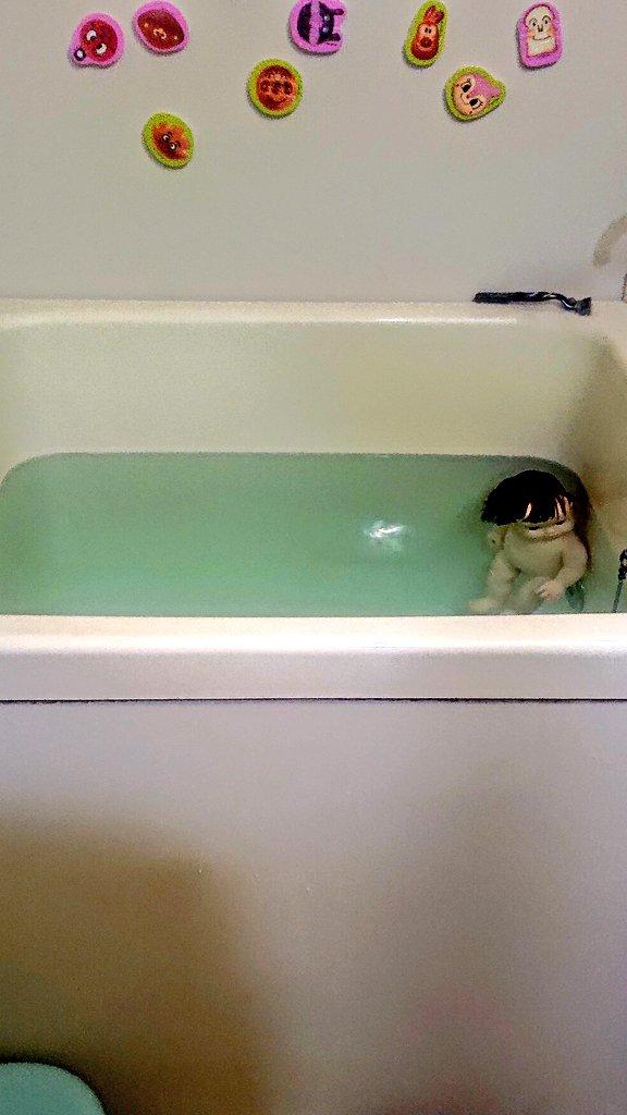 パパは最後に風呂にはいる。…なれてるから。でも疲れてて油断してるとん