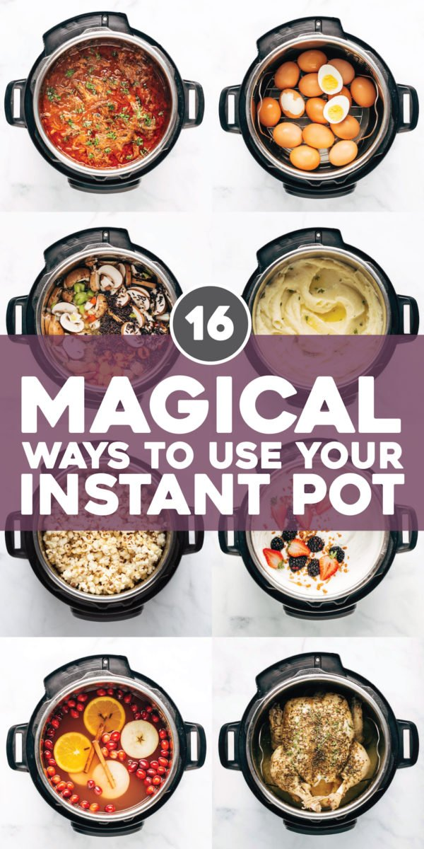 16 Magical Ways to Use Your Instant Pot https://t.co/4Ldb8mp5Mx https://t.co/rd3rkCc3Hp
