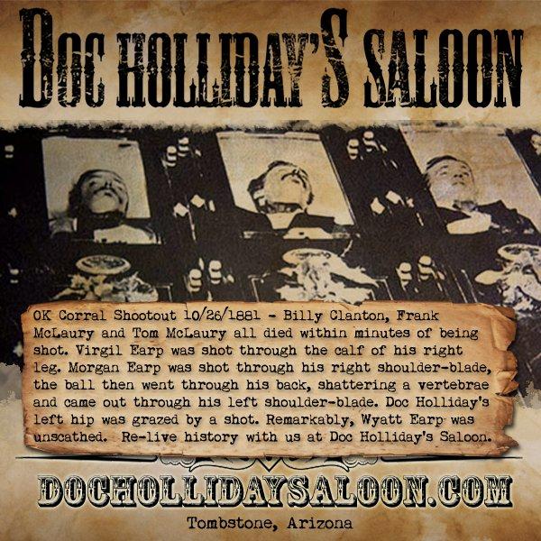 Doc Hollidays Saloon on Twitter: