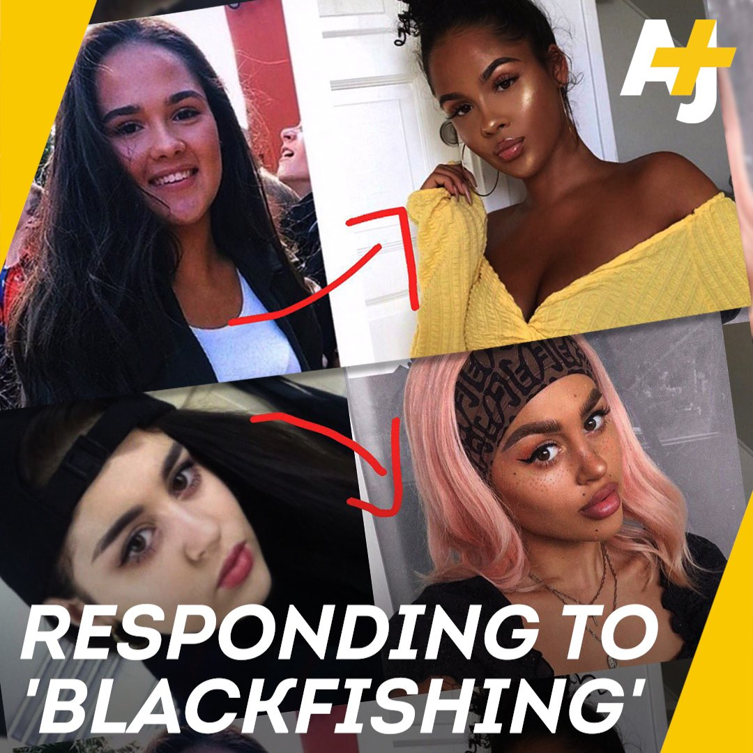 People are calling out white women on Instagram for blackfishing, or pretending to be black online. Two black influencers told AJ+ what they think about the trend.