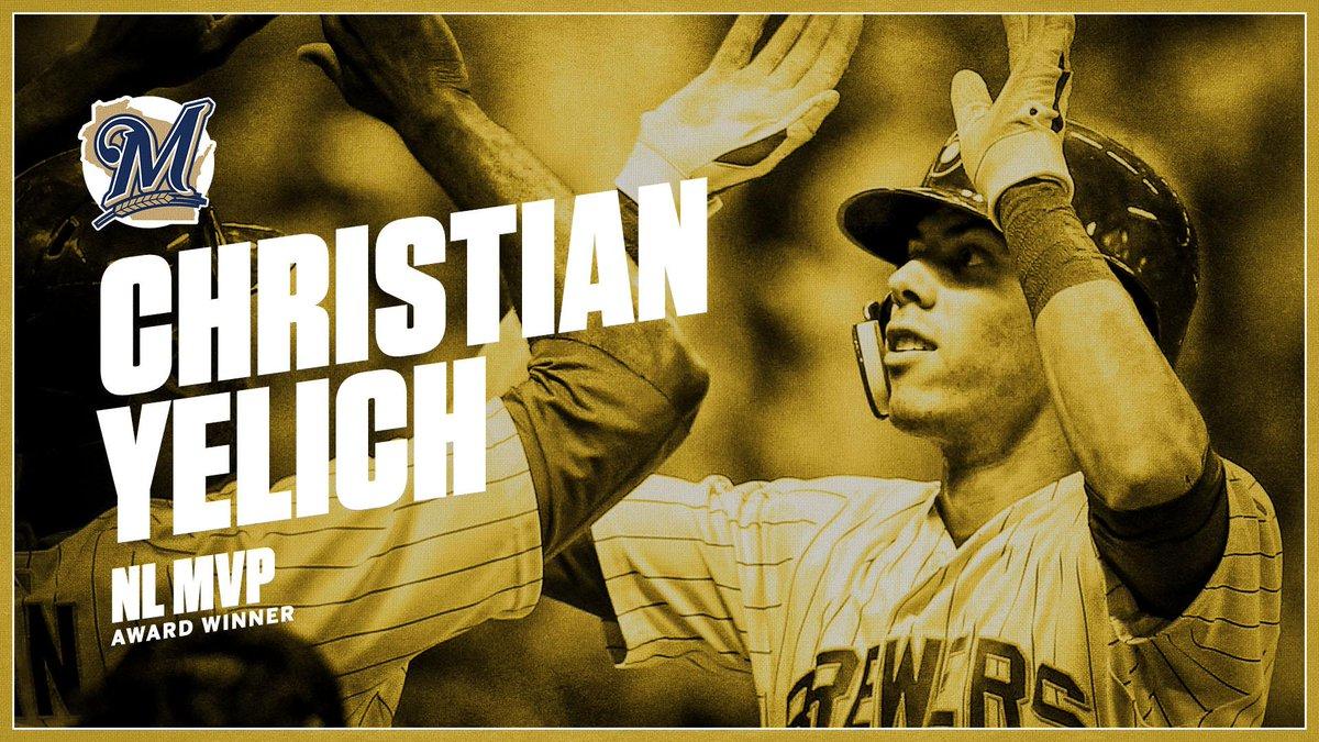 Christian Yelich is your 2018 NL MVP! .326 BA | 36 HR | 110 RBI
