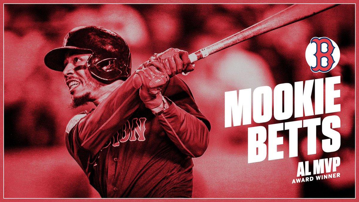 Mookie Betts is your 2018 AL MVP! .346 BA | 32 HR | 80 RBI
