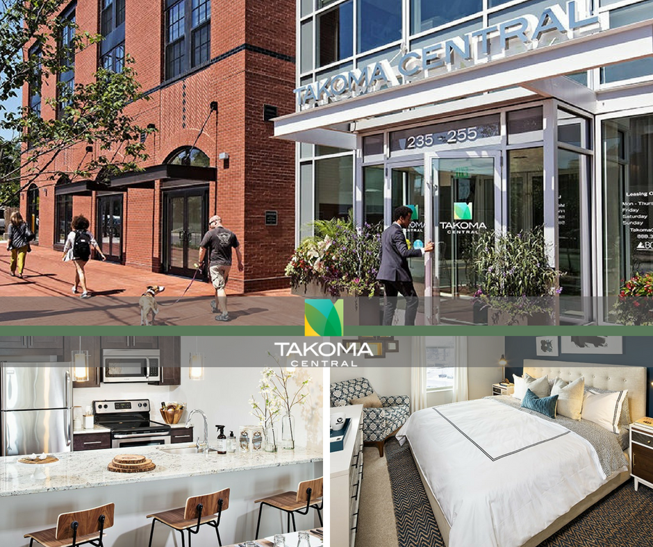 Welcome home to Takoma Central! We have everything you need for a modern, Washington D.C. lifestyle, from best-in-class amenities to spacious residences.  Learn more about our luxurious, comfortable community: https://takomacentral.com/