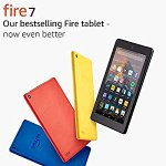 Image for the Tweet beginning: Fire 7 8GB Tablet with
