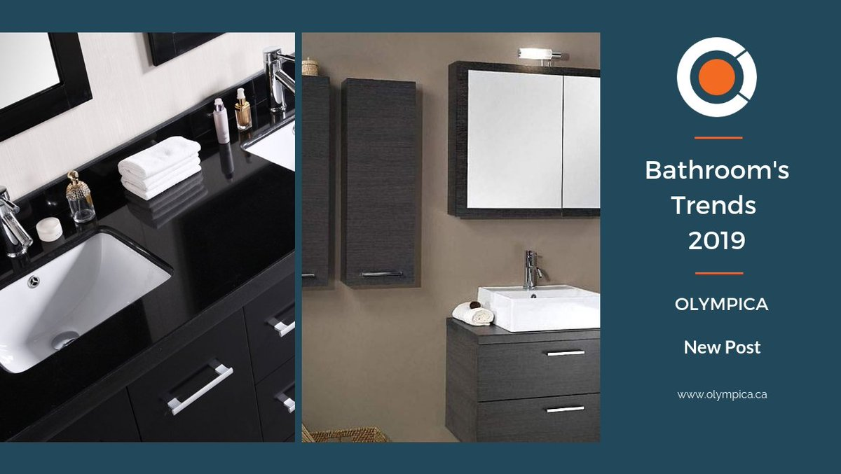 manufacturer on twitter 2019 kitchen and bathroom trends part 1 bathroom vanities trends do you want to know what is in and what is out for 2019