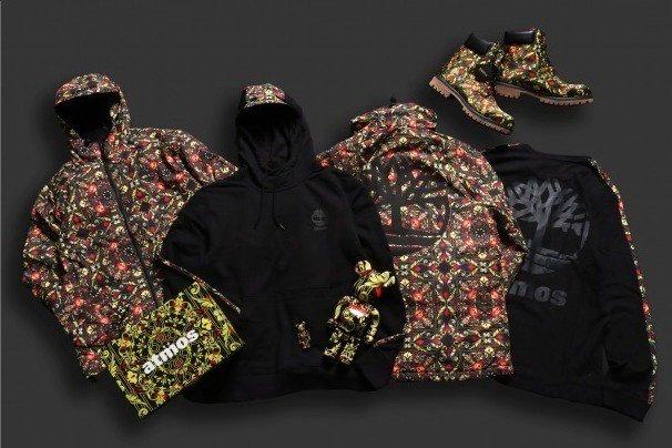 [明日発売] アトモス×ティンバーランド、華やかなスカーフ柄の6インチブーツ&総柄ジャケットやパーカー - https://t.co/eV3gVVD8jJ