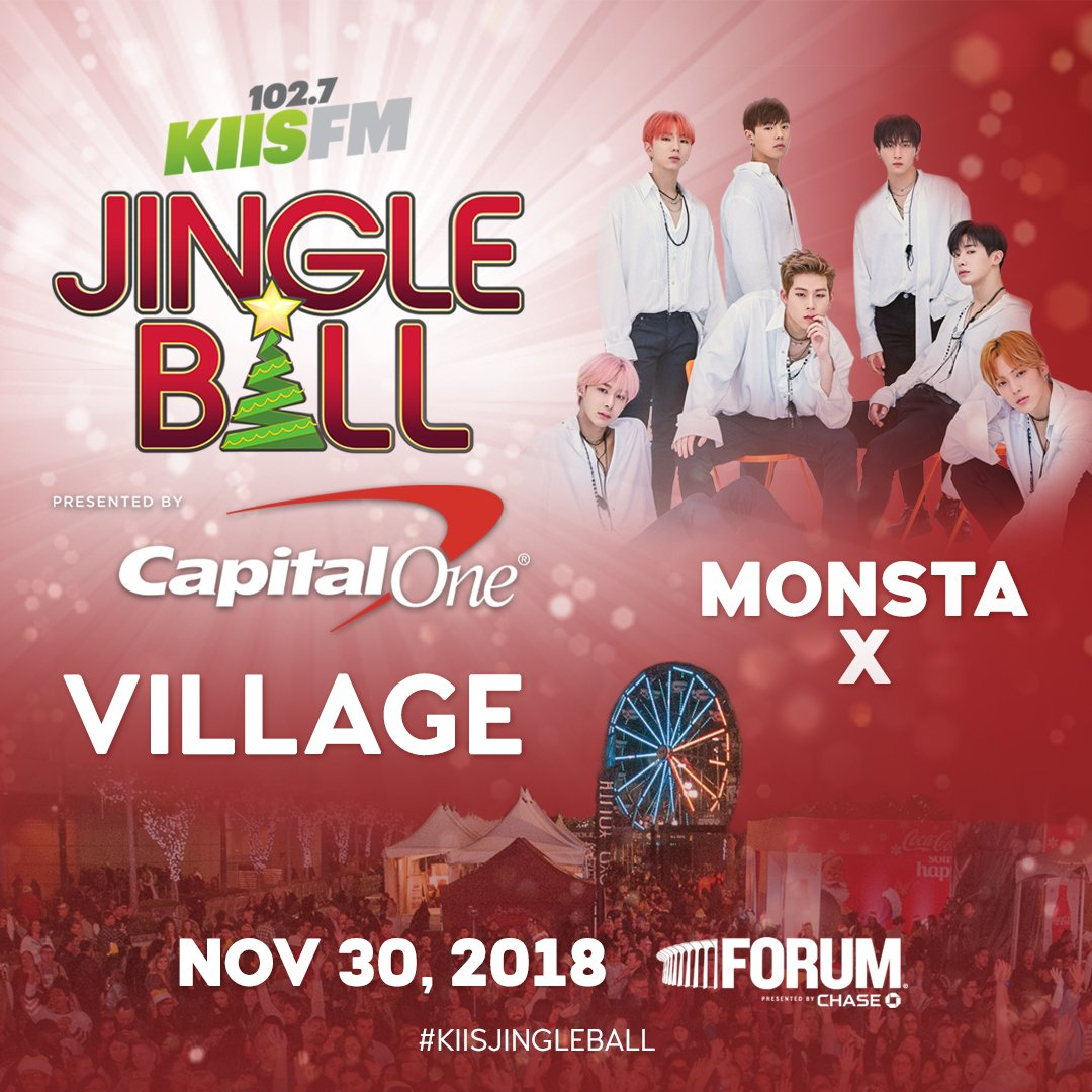 .@OfficialMonstaX are the BEST 😍! As a thanks to #Monbebe that helped sell-out #KIISJingleBall they want to give a bonus Village performance!  Who's coming out on 11/30? #MonstaX https://t.co/fdDGEVn7QK