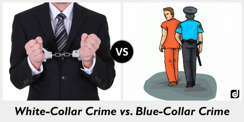 White collar crime is often overlooked and overshadowed by violent crime, which tends to make more headlines because of the nature of it; the loss of lives are more publicized and elicit harsher reactions. #Societies1045 https://t.co/Zhz7EC0f4p
