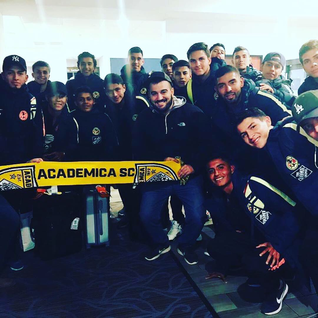 Academica vs Club America