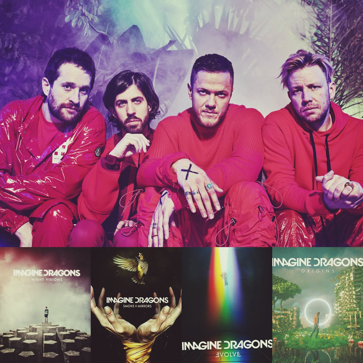 @Imaginedragons always number one in my playlist 🖤💯🎶 #IMAGINEDRAGONS #ORIGINS https://t.co/xys4nR4oCj
