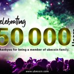 Image for the Tweet beginning: Celebrating 50000 Member in our
