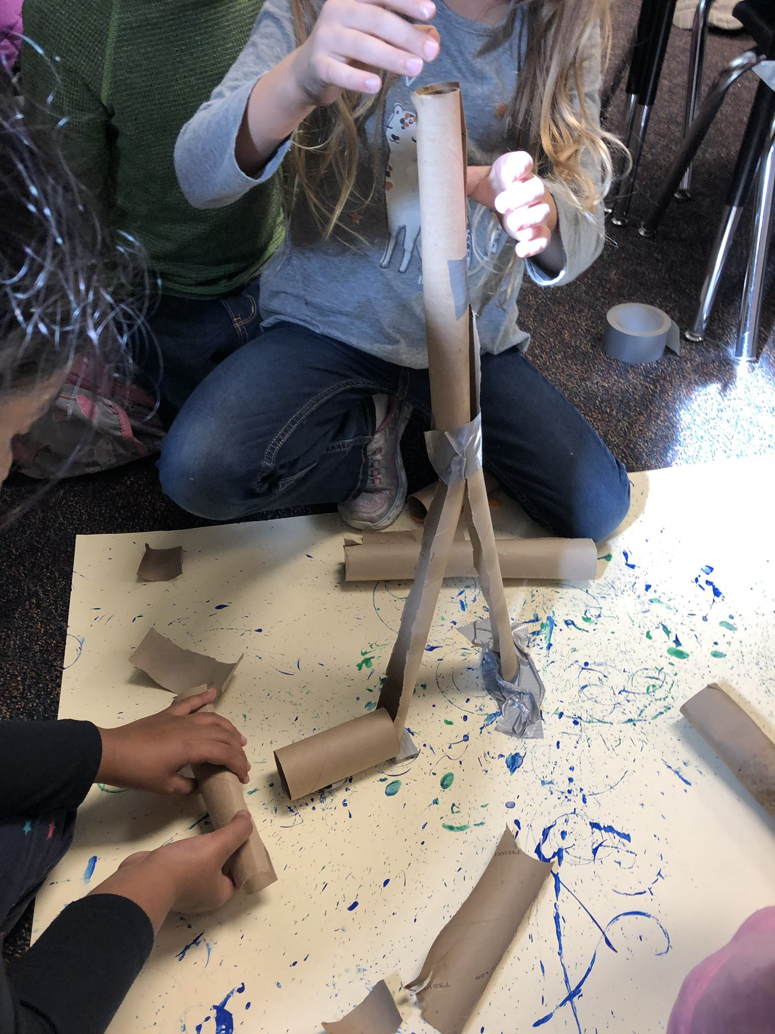 We made a plan-now it's time to execute and revise our marble mazes  #MsJs2nd #handsonscience #designprocess https://t.co/yTqxSuokIu