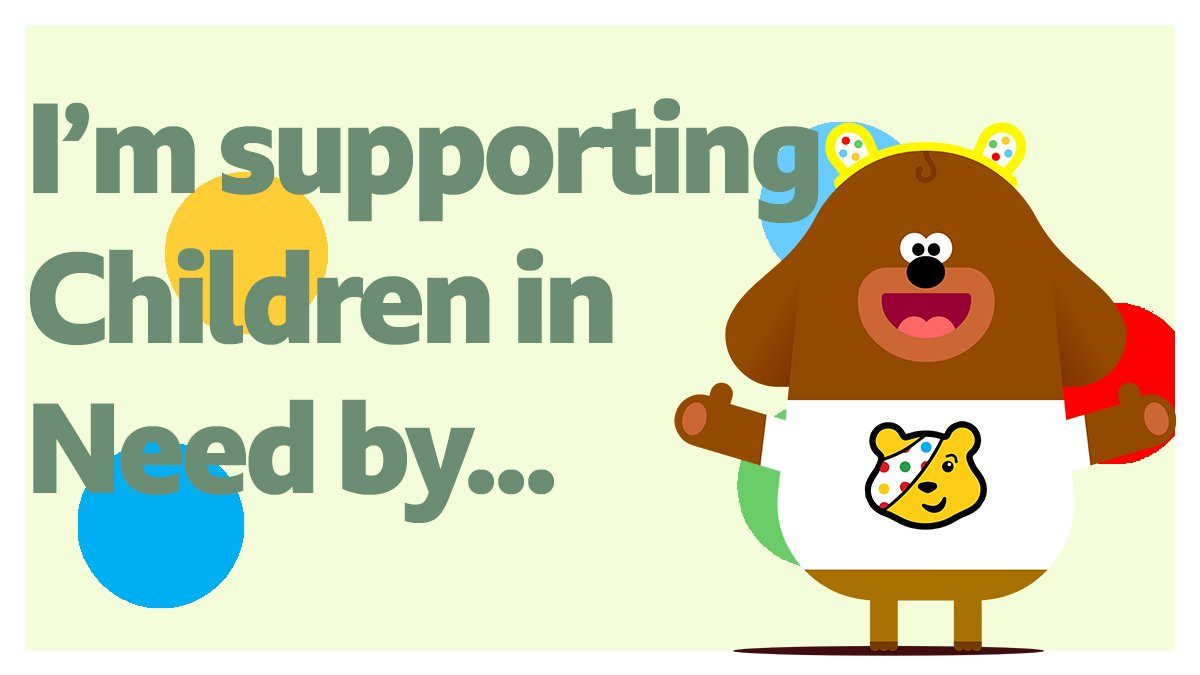 Your favourite yellow bear is back tonight 👍  Join @BBCOne for all the fun & tell us what you've been up to! 🙌  Not got involved yet?  Get your ears on and share a selfie for !!  @BBCCiN   @HEYDUGGEE#CiN