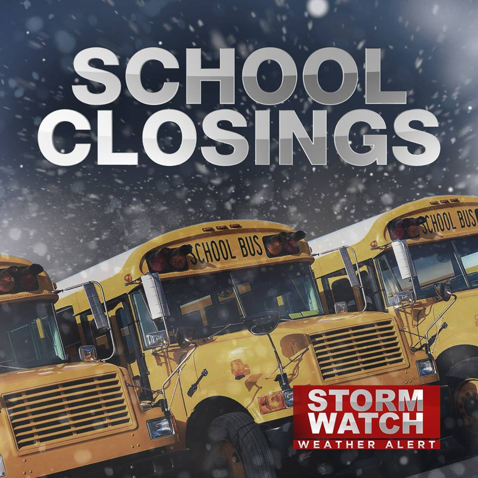 Schools opening late Friday due to snow. Check the list here: https://t.co/iz7u6QNdGO