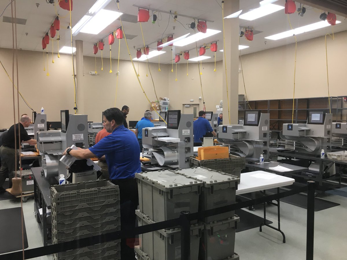Prepping for tomorrow's hand recount. Broward County. Missed deadline. #floridavote @cbsmiami