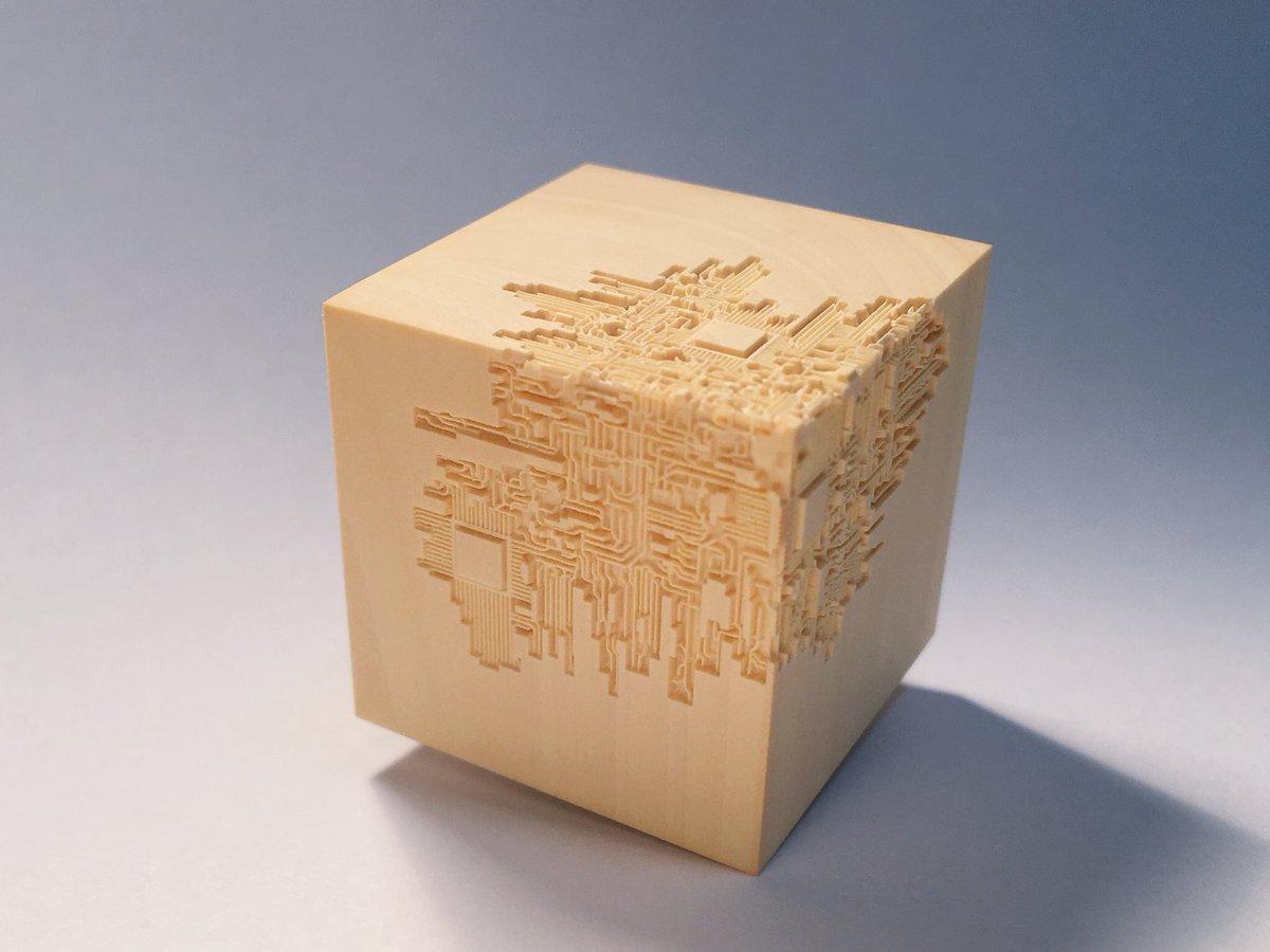 #私を布教して木彫とか回路とか