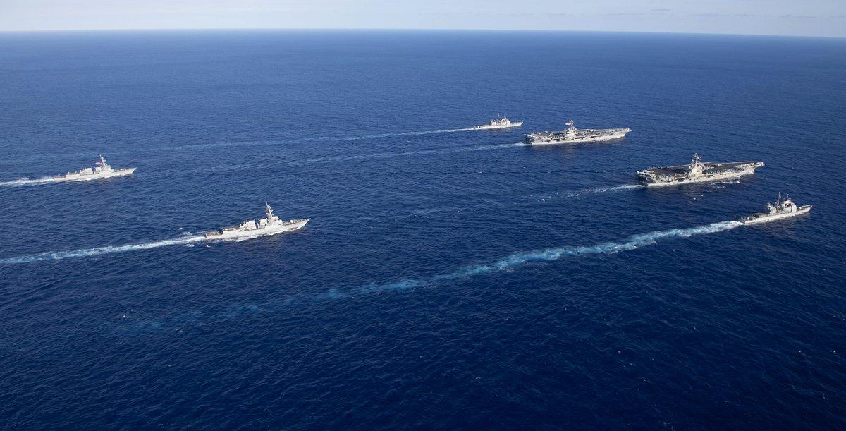 США устроили Китаю демонстрацию военной мощи