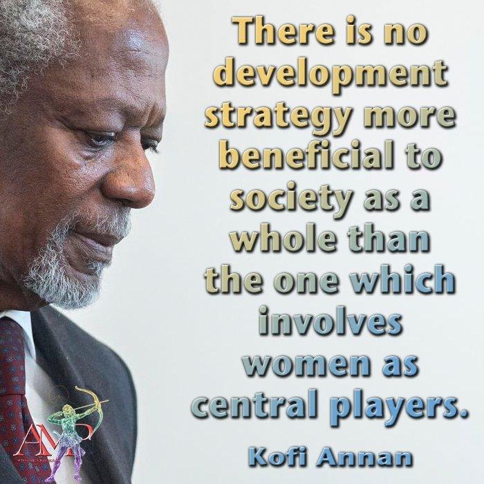 #KofiAnnan Latest News Trends Updates Images - IamMelanieWise