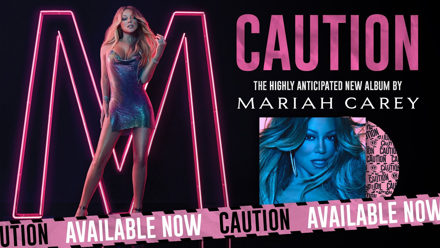 #CAUTION ������ OUT NOW!!! #MariahCaution https://t.co/noxGeYiwck https://t.co/ExSZTaT4K4