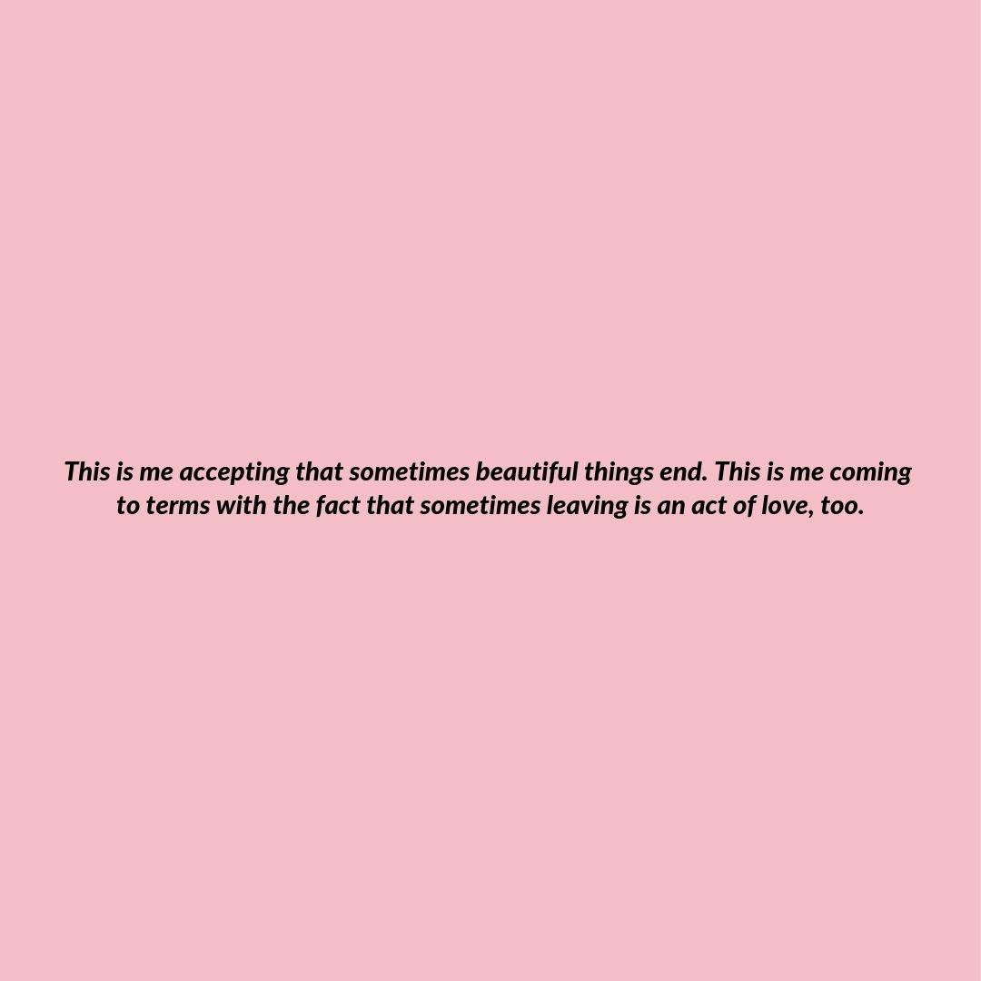 Sometimes things end.  https://t.co/SpBFEZigWA