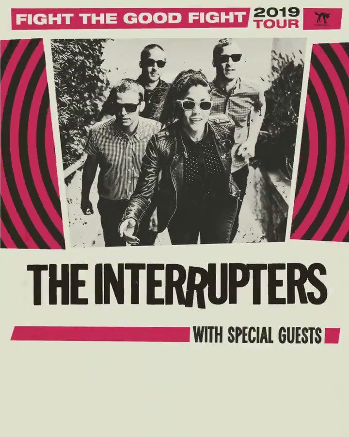 The Interrupters's photo on ON SALE NOW
