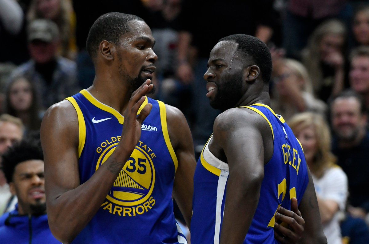 """During their argument, Draymond 'dared' KD to leave and said: 'We don't need you. we won without you,"""" per @ChrisBHaynes"""