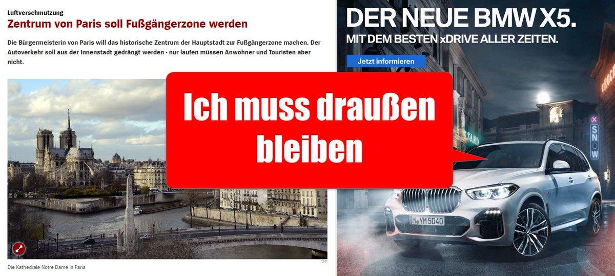 RT @radkolumne: ⭕️#Fahrverbote nur für #Diesel? Nicht in Paris! 😍 https://t.co/kBi4nEuOWl