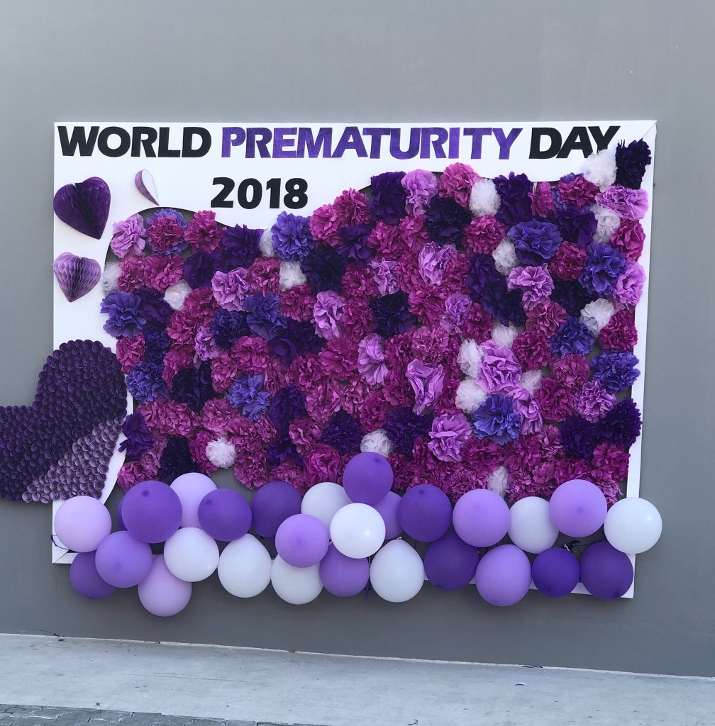 IGMH celebrating World Prematurity Day 2018 - show your support and join us near IGMH parking area. #givethemtomorrow #jointhefight <br>http://pic.twitter.com/MPNojTJvJr