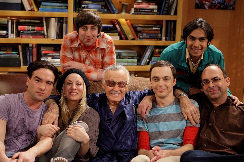 Esta tarde, a partir de las 15:20h, recordamos a Stan Lee con Big Bang, Thor, Thor: el mundo oscuro y Ant-Man.  'Nuff Said!
