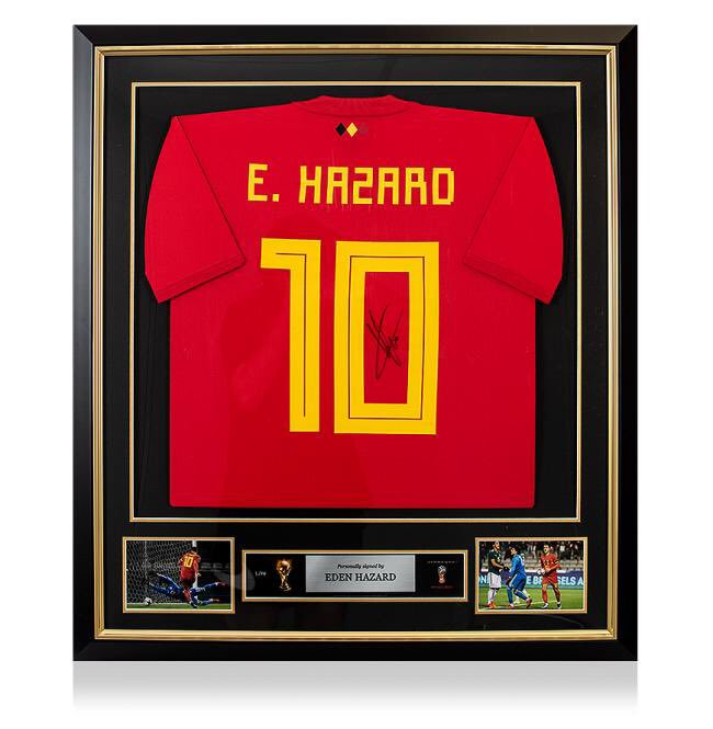 Hello my friends, to celebrate our new number 1 FIFA ranking, WIN this framed Belgium shirt signed by me! 🇧🇪 To win: 1) Comment on this post AND 2) Follow BOTH me and my official signing partner @icons_football  Good luck! 😉