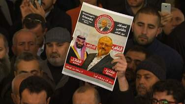 45 days after his murder and disappearance, symbolic funerals held for Jamal Khashoggi in Istanbul, as well as Mecca and Medina. His body remains missing so he was mourned in absentia.