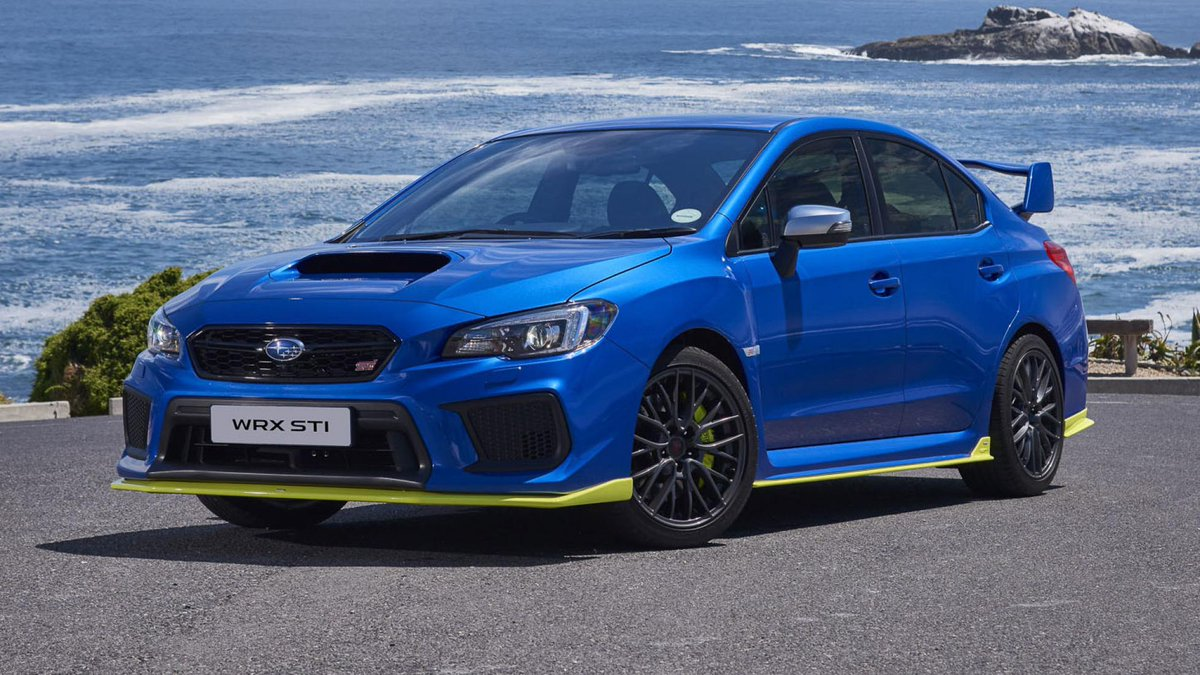 The new Subaru WRX STI Diamond Edition is here! Well, not here, but only in South Africa. And only 30 are being built. Boo... topgear.com/car-news/first…